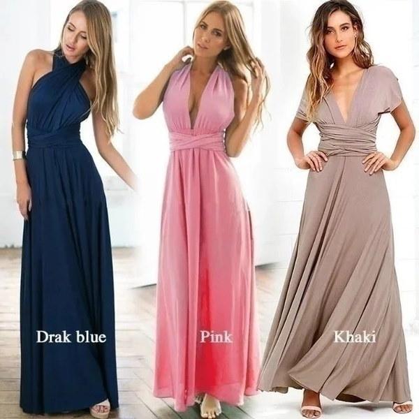 女性のファッションノースリーブホルター包帯ボールガウンドレスマルチ摩耗エレガントなセクシーなロングドレス
