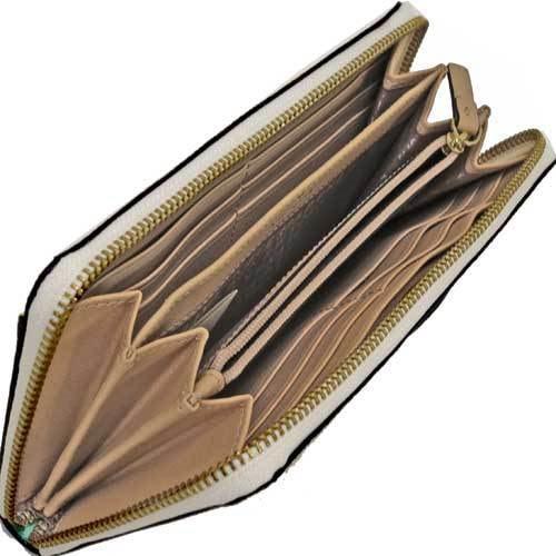 Kate spade ケイトスペード アウトレット Neda Grove Street デューン ストライプ 長財布  WLRU2829 923
