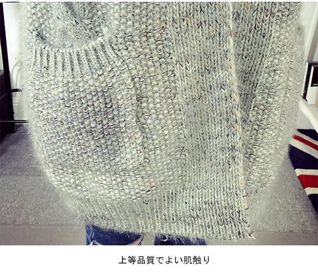 レディースファッション ニット シンプルセーター 2015年 秋冬新作 大HIT レディース コート ニットコートアウター 大きいサイズ vネック タートルニット ベスト チュニック トップスニット ロング丈 ゆったり 暖かい