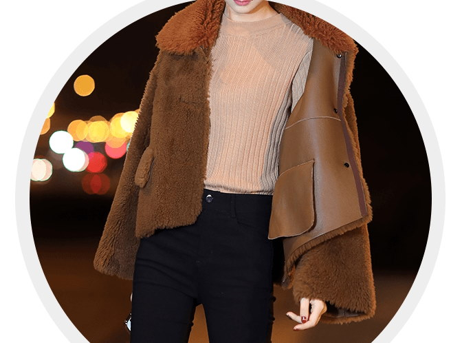 レディース ジャケット ゆったり 大きいサイズ ショート ウールコート 冬
