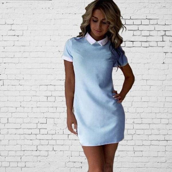 ファッション女性の半袖イブニングパーティーカクテルショートドレス