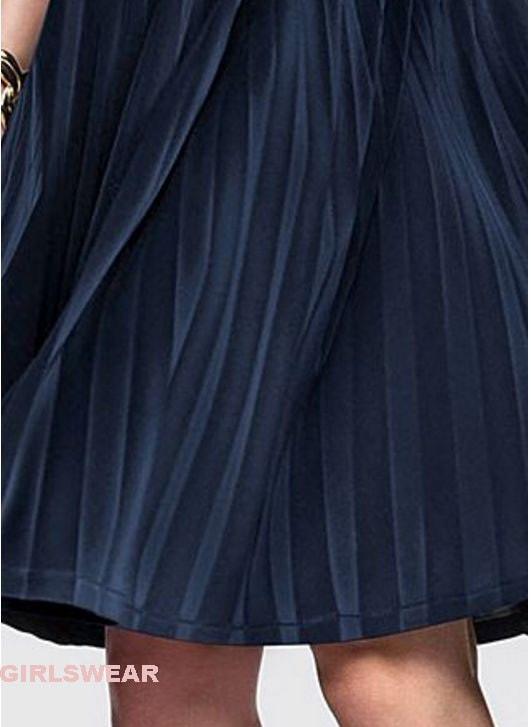 【VENUS】プリーツフレア・ビューティー・ドレス