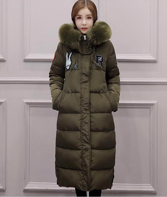 y6  防寒  アウター  キレイめ  ロングコート  ダウンコート♪  大きいサイズ 緑 ♪