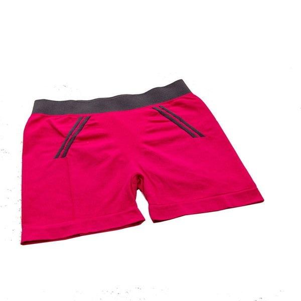 女性の圧縮ランニングスポーツスリムジムヨガフィットネスワークアウト弾性ショーツ