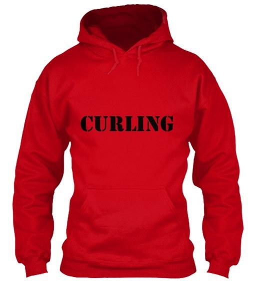 カーリング1 Gildan Hoodie Sweatshirt