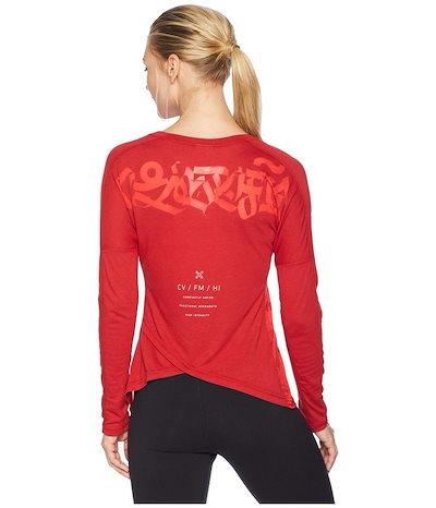 リーボックリーボック レディース シャツ トップス CrossFit Burnout Long Sleeve T-Shirt