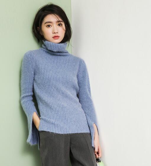 [55555SHOP]♥韓国ECサイト大ヒット!商品♥ルーズフィットタートルネックニット