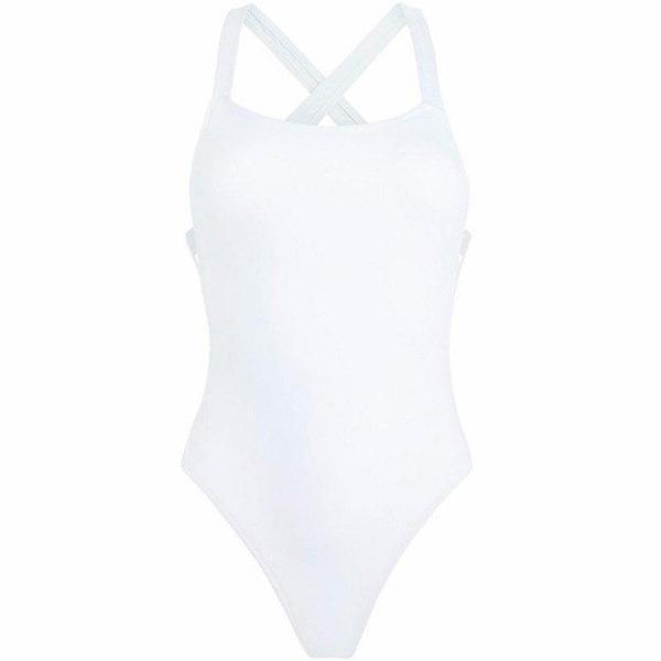 セクシーなトリッキーニスーツスーツ女性のための新しいトリキニス水着クロスラップブラックホワイトボディスーツハイカット