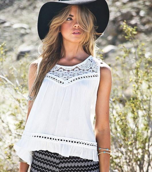 セクシーレディース夏レースシフォンベストタンクトップノースリーブブラウスホワイトシャツS / M / L / XL