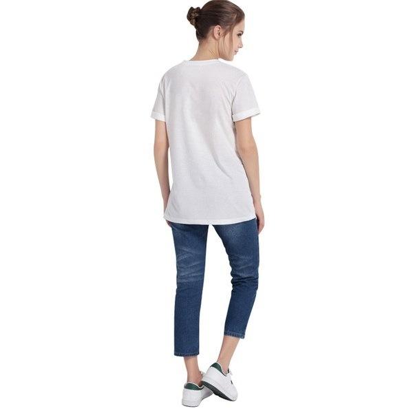 夏スタイルの女性ホワイトトップスティーズ半袖ブラウスあなたは私のギャラクシープリントシンプルなTシャツ