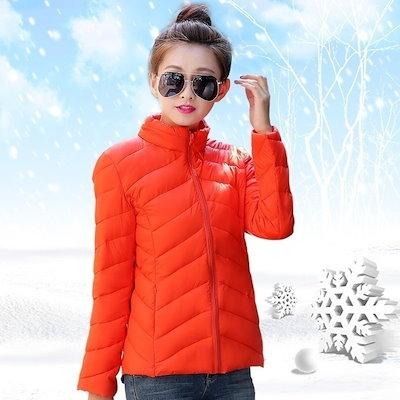 2015新しい女性の短い冬の羽パッド入りのフード付きの綿のコートのジャケットサイズ。