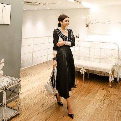 VIVARUBY (韓国ファッション)♥大ヒット商品超特価♥韓国ファッション女性服1位『VIVARUBY』♡ブリング・プリーツスカート♡高級品質! 送料無料 P0000YCY