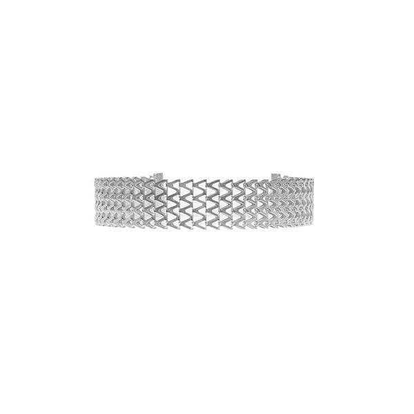 レトロファッション誇張されたネックレスジオメトリーVバックルチェーンネックレスの襟#2112482