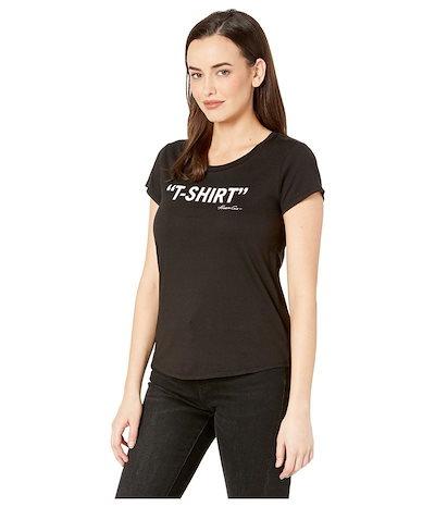 ケネスコール レディース シャツ トップス Logo T-Shirt