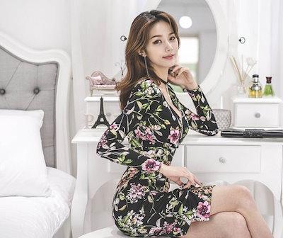 大きいサイズ オルチャン ワンピース 黒ワンピース ドレス 赤 レディース 結婚式 オルチャンファッション ドレス ロングワンピース ドレス 韓国ファッション ワンピース パーティードレス