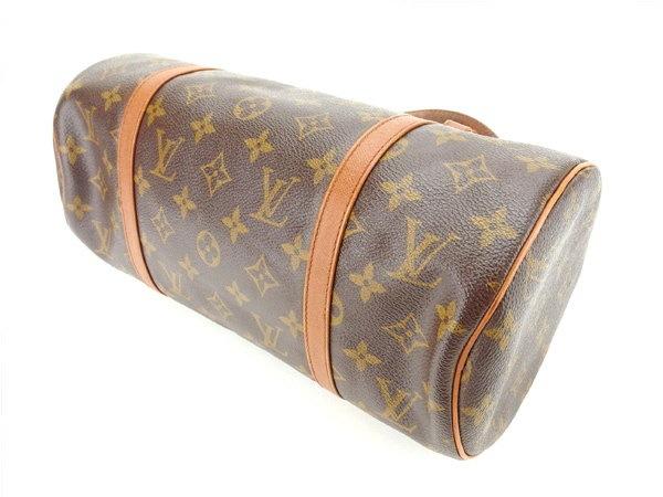 ルイヴィトン Louis Vuitton ハンドバッグ 筒型バッグ 廃盤レア 男女兼用 パピヨン30(旧タイプ) モノグラム M51365 ブラウン モノグラムキャンバス (あす楽対応)人気 セール【