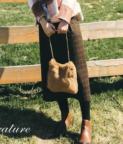 売れ筋 おすすめ スカート ブラウン チェック柄 ミディ丈 カジュアル オフィス 通勤 キャンパス 女子会 デート hf0749