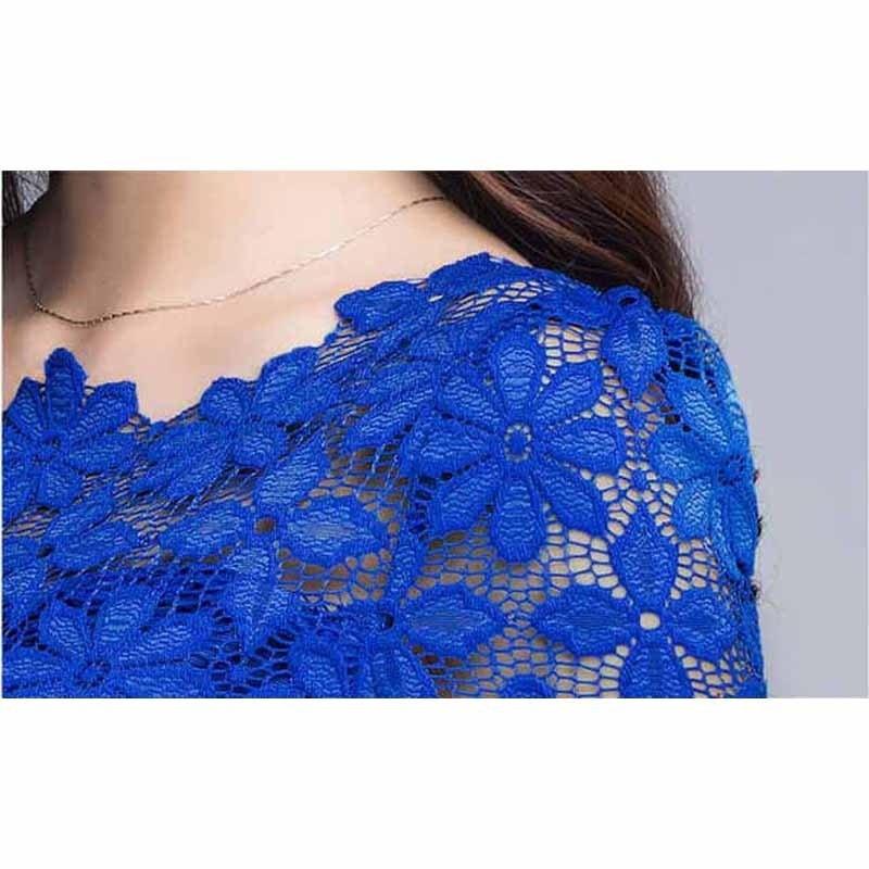女性のブラウス新しいファッションカジュアル夏トップス半袖muti-color女性シフォンシャツブラウスplu