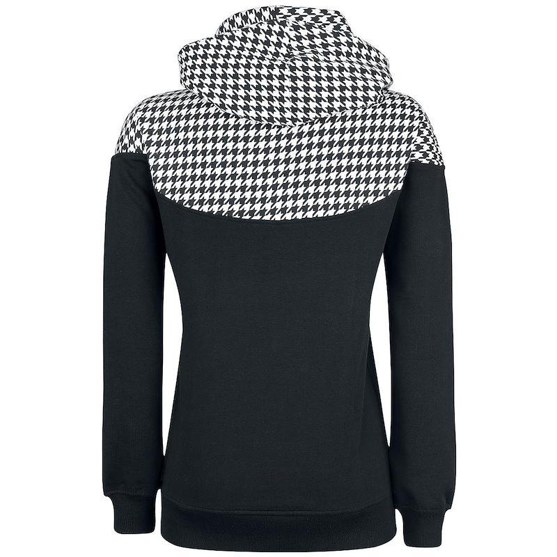 女性のファッションチェリープリントスーツシャツかわいいカジュアルなハイカラープルオーバー