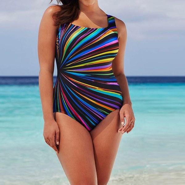 Neueste! Womens SchwimmenKostümGepolsterte Badeanzug Monokiniバドモードプッシュアップビキニセット