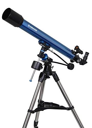 MEADE 天体望遠鏡 EQM-70 プラネタリウムソフトセット 口径70mm 焦点距離900mm アクロマート屈折式 赤道儀式