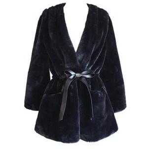 ファーコート レディース 毛皮コート ラビット毛皮 ロッグコート おしゃれ 上着 暖かい 秋冬 防寒 お洒落 レディースファッション