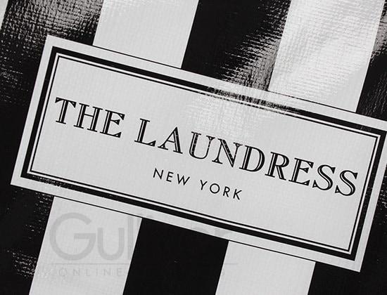 ザ・ランドレス エコバッグ ショッパー 幅45cm x 高37cm x マチ22cm 買い物バッグ トートバッグ ナイロン ジムバッグ お洒落 可愛いSH-01 The Laundress Shopp