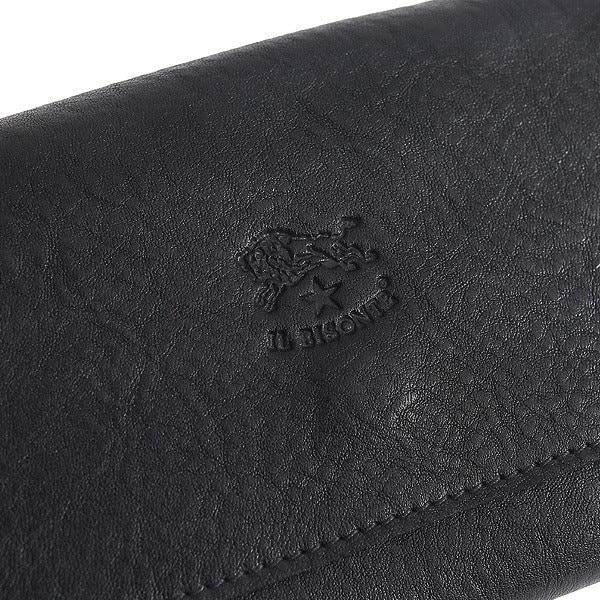 イルビゾンテ IL BISONTE 財布 レディース/メンズ C0775-P 153 長財布 BLACK