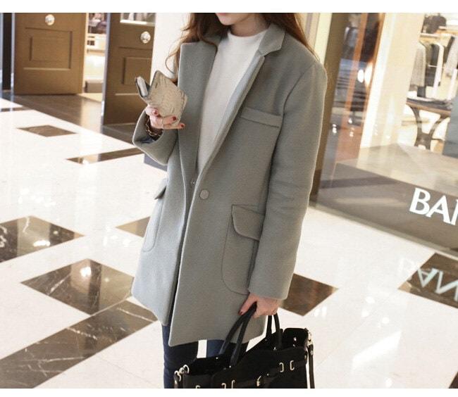 ファッション 韓国風 レディース服 ローグコート チェスターフィールド・コート 比翼仕立て 今季トレンド しっかりと厚手 柔らかく肌触りも滑らか OFFもONも着こなし良し 着心地が抜群  ちょっぴり