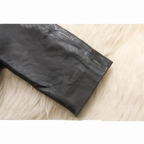 ファッションレディースレディースウィンターフェイクレザーファーラグジュアリージャケットウォームコートアウトドアパーカーWH6276