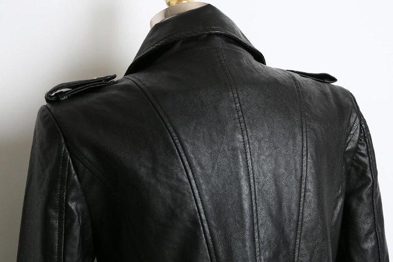 【送料無料】さっと着られてデイリーアイテムに◎ とってもカジュアルでひとつは持っておきたい一品★ジャケット アウター ライダースジャケット 冬 秋 シンプル フェイクレザー ショート丈