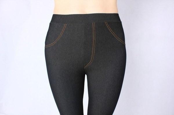 女性のズボンパンツフォックスデニムジーンズレギンスタイツペンシル高弾性プラスサイズカジュアル