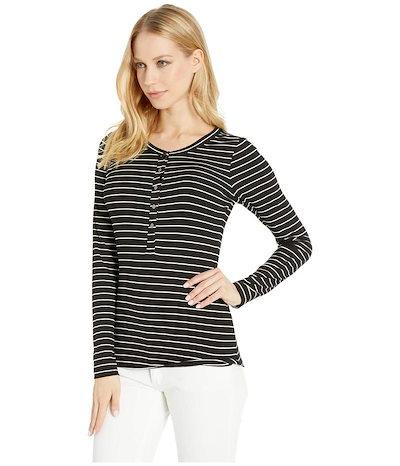 ペイジ レディース シャツ トップス Marlea Long Sleeve Shirt