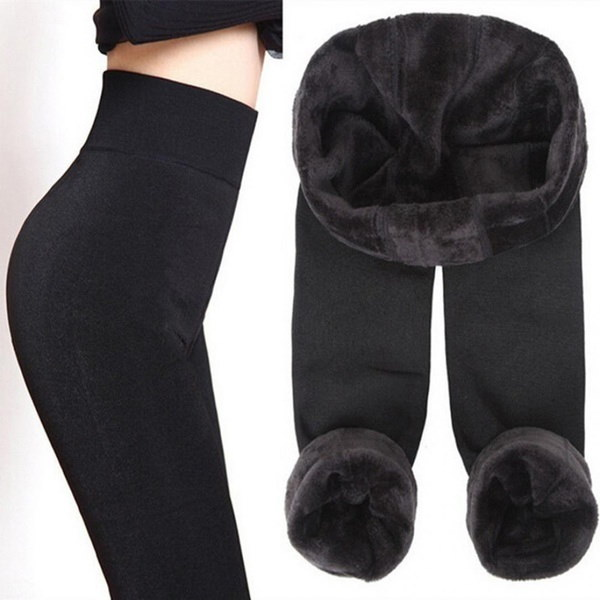 8 Colors Winter Plus Cashmere Leggings Woman Casual High Elastic Thicken Lady S Leggings Warm Pants
