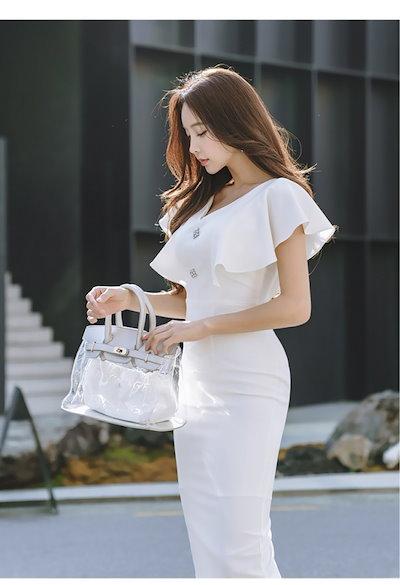 オルチャンファッション ワンピース ワンピース オルチャン 結婚式 結婚式 韓国ファッション 二次会 結婚式 パーティードレス レディース ワンピース パーティードレス パーティードレス
