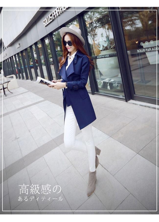 春秋レディースファション韓国ファション レディースコートジャケットアウター可愛い 美しいライン女性の装いで重要な「オシャレ感」と「きっちり感」この二つのポイントを兼ね備えてトレンドの先端を走る。
