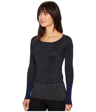 エレントレイシー レディース ニット・セーター アウター Color Block Ribbed Sweater