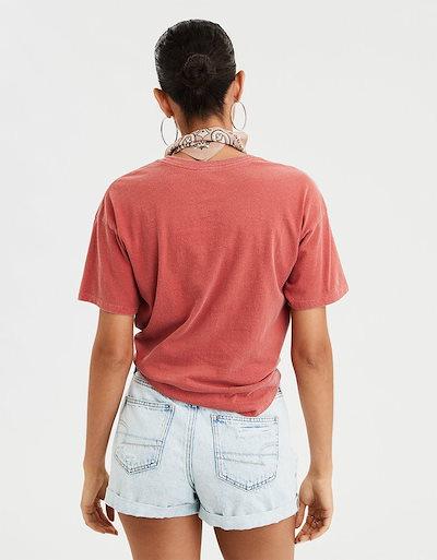 アメリカンイーグルアメリカンイーグル レディース Tシャツ トップス AE Sriracha Graphic Tee