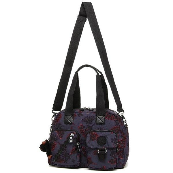 16334b3b4b76 キプリング バッグ KIPLING K13636 T27 DEFEA レディース ショルダーバッグ 花柄 FLORAL NIGHT 紫