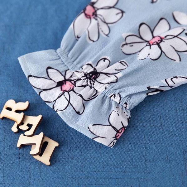 花柄 ワンピース フラワープリント フレアワンピース フェミニン 春夏 レディース