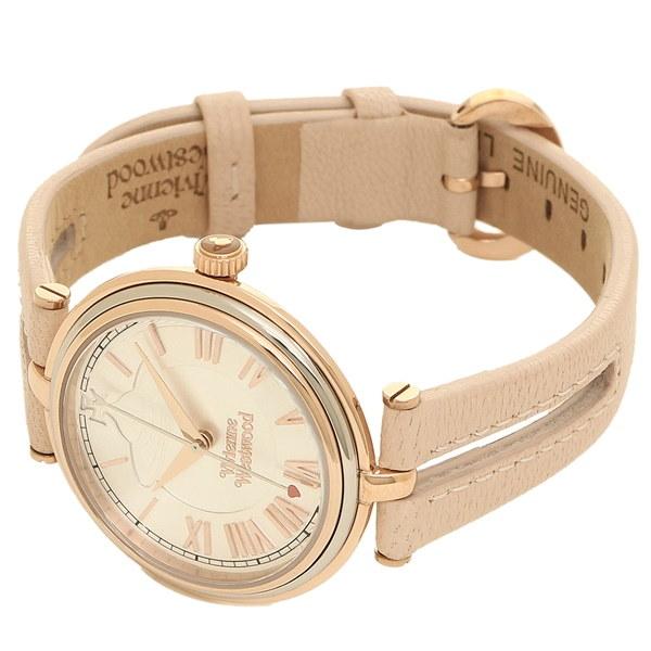ヴィヴィアンウエストウッド 時計 VIVIENNE WESTWOOD VV168SLPK ファリンドン レディース腕時計ウォッチ ピンク/シルバー