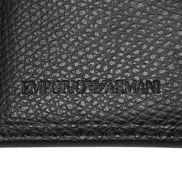 EMPORIO ARMANI キーケース エンポリオアルマーニ YEMG68 YAQ2E 81072 メンズ キーホルダー BLACK