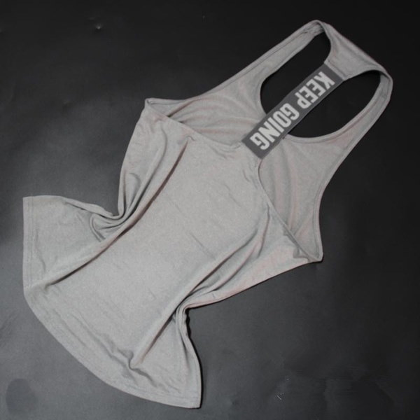 スポーツ&アウトドア女性フィットネスダンススポーツTシャツランニングレースバックタンクトップワークアウトGYM洋服