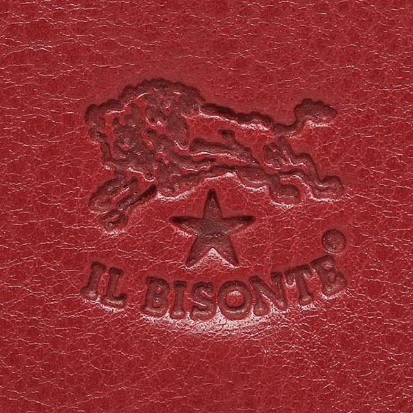 イルビゾンテ 財布 IL BISONTE C0775 P 245 長財布 ROSSO