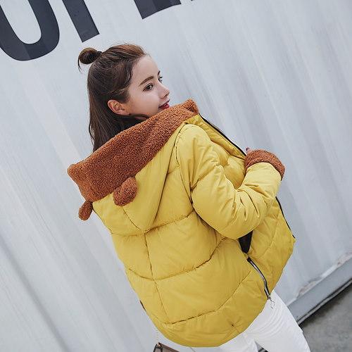 中綿ジャケット ダウンコート レディース コート 防寒 フード付き
