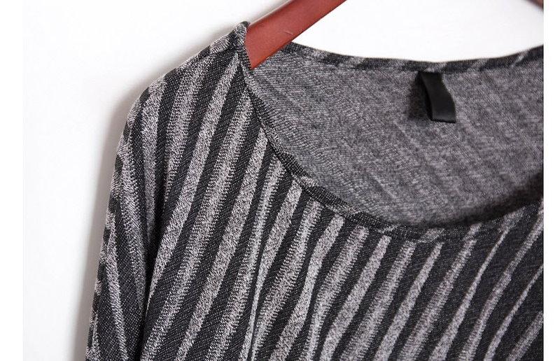 『香港製』SELLISHOP  Unbalance loose top-「大人 上品・プルオーバ カットソー・結婚式 韓国 ファッション ナチュラル,30代 40代 ファッション50代・ドルマン・チュ