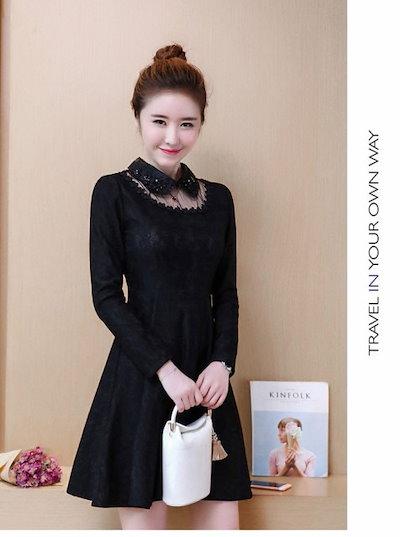 レディース ワンピース 韓国ファッション マタニティ 大きいサイズ フォーマル フォーマルワンピース 結婚式 オルチャンファッション お呼ばれ フォーマルワンピース レディース オルチャン