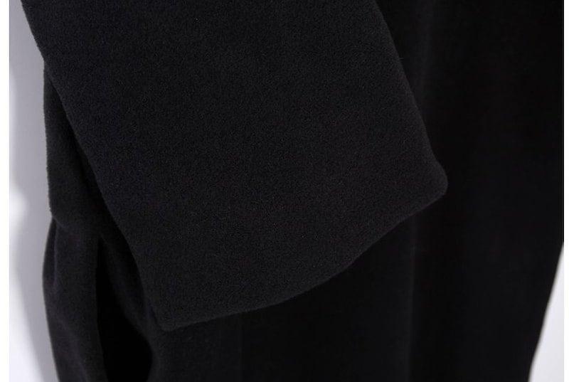 『韓国製』 Danys ワンピース「大きいサイズ 大人・結婚式・ 黒 フレア・ママワンピ・黒Aライン、シャツ・コットン フォーマル