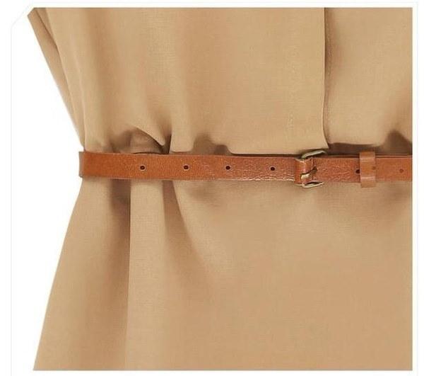 新しい女性のルーズ半袖シャツファッションシフォンドレス(アジアサイズS / M / L / XL)