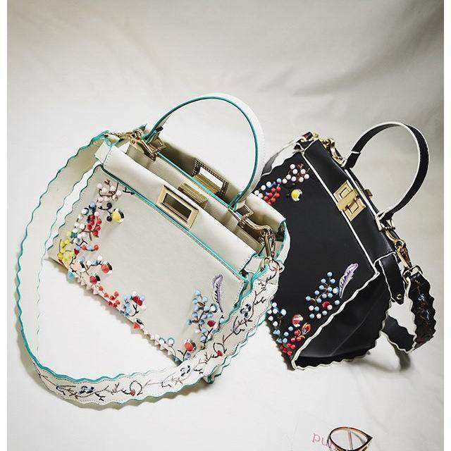 国内発送/即納 ショルダーバッグ バッグ ハンドスバッグ 刺繍 スタッズ カラフル お洒落 個性的 レディース 新作韓国ファッション 韓国